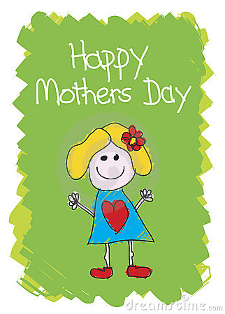 Happy Mothers Day - Girl