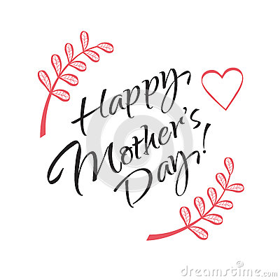 Happy Mothers Day Stock Vector Image 71056013