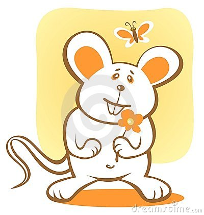 Free Happy Mouse Stock Photography - 5505382
