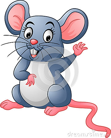 Free Happy Mouse Cartoon Stock Images - 75316404