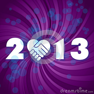 Happy New 2013 Year Stock Image - Image: 27661181