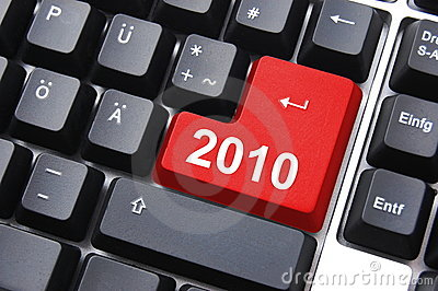 Happy new year 2010 button