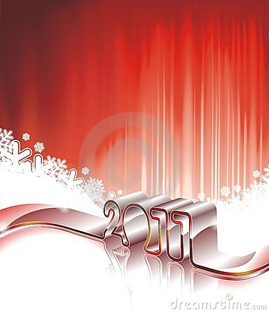 Happy New Year 2011 design