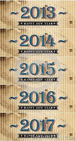 Happy New Year 2013-2017