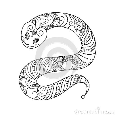 Free Happy New Year. 2013. Snake Year. Vector. Black Royalty Free Stock Images - 46684809