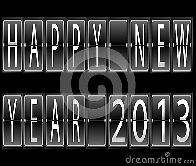 Happy New Year 2013 terminal