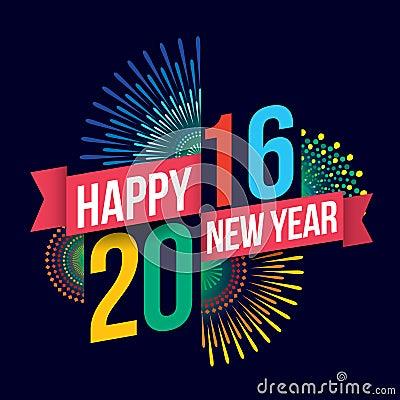 Free Happy New Year 2016 Stock Photos - 56919083