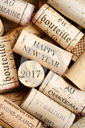 Free Happy New Year 2017 Stock Image - 76801661