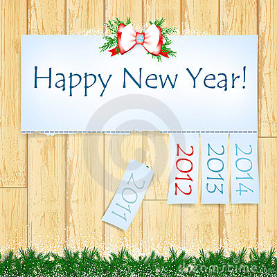 Happy New Year Royalty Free Stock Photo - Image: 21146325