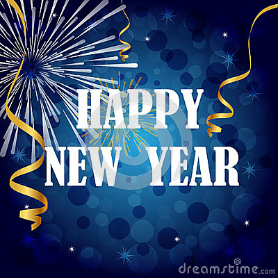 Free Happy New Year Royalty Free Stock Photography - 27461897