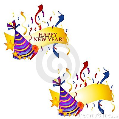 Happy New Year Banners or Logos