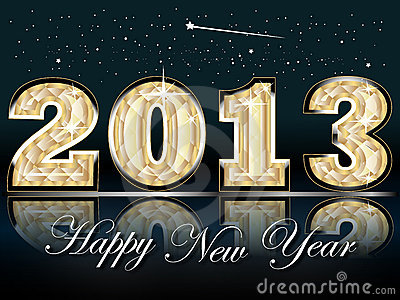 Happy New Year Card 2013