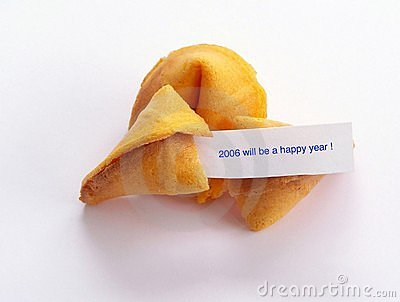 Happy New year cookie.