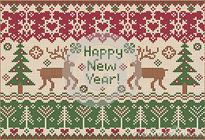 Happy New Year! Knitted style