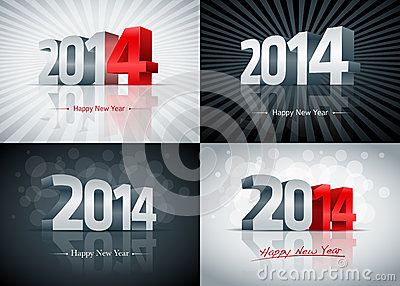 2014 Happy New Year Set