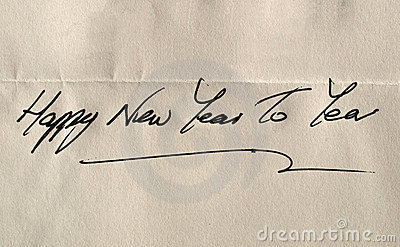 Happy new year to yea - Happy new year to youou