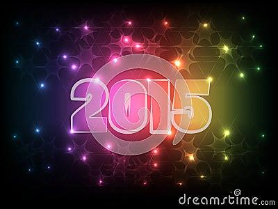 Happy New Year 2015_01 Vector Illustration