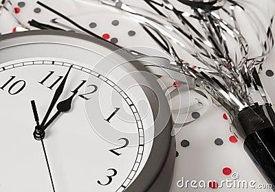 Happy New Years Eve Celebration Countdown Clock
