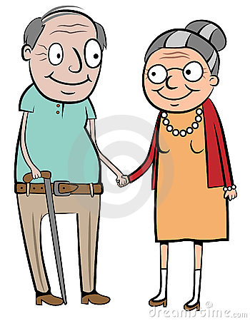 Free Happy Old Couple Stock Photography - 20756622