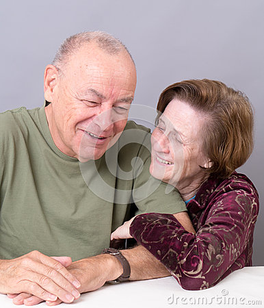 Happy Older Couple