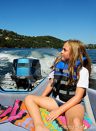 Free Happy On A Boat Royalty Free Stock Photos - 8558308