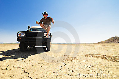 Happy Outback Off Road Driver