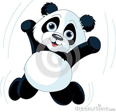 Free Happy Panda Stock Image - 19735131