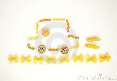 Happy pasta picture