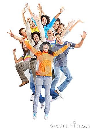 Free Happy People Stock Photo - 9660980