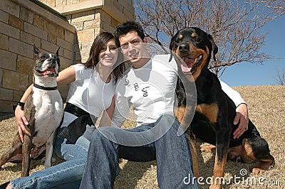 Happy Pet Owners