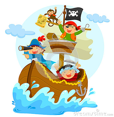 Free Happy Pirates Stock Photos - 40862493