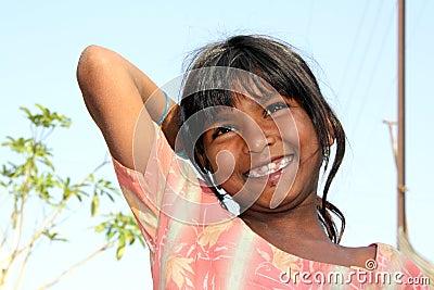 Happy Poor Girl