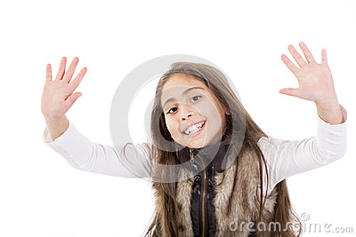 happy portrait child