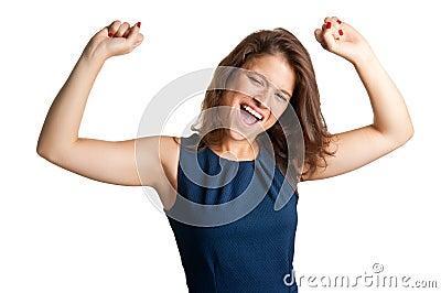 Happy Positive Girl