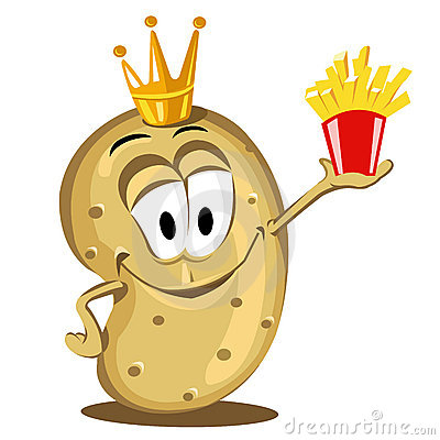 Happy potato