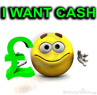 Happy Pound Guy I Want Cash
