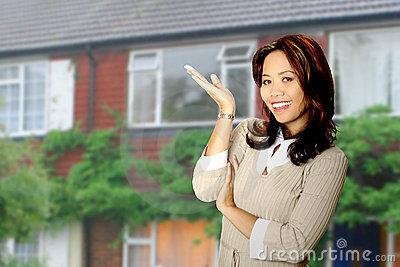Happy property agent