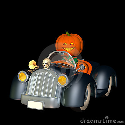 Free Happy Pumpkin Scarecrow 3 Stock Photo - 3179400