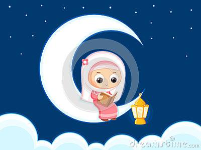 Happy Ramadan Vector Illustration
