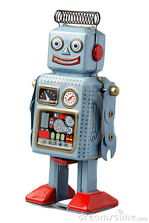 Free Happy Robot Stock Photography - 19551322