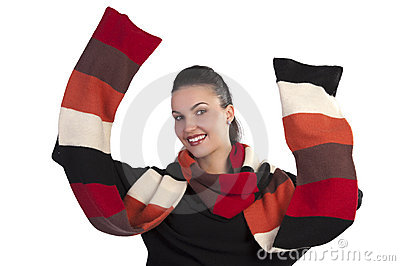 Happy scarf season