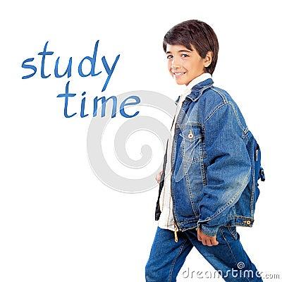 Free Happy School Boy Royalty Free Stock Image - 33133966