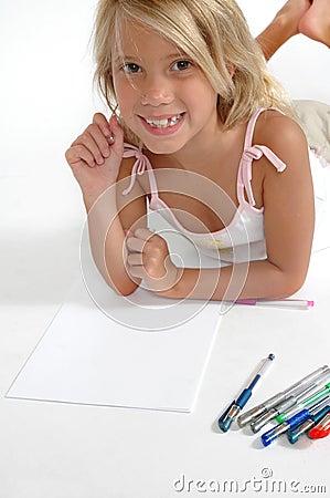 Free Happy School Girl Stock Images - 1550164