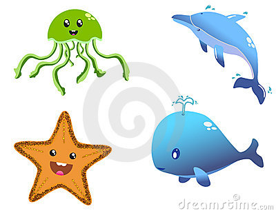 Happy Sea Creatures