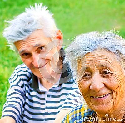 Free Happy Senior Couple Stock Photos - 7981493