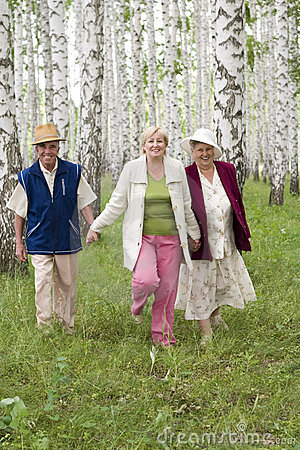 Happy Seniors Royalty Free Stock Photo - Image: 2725025