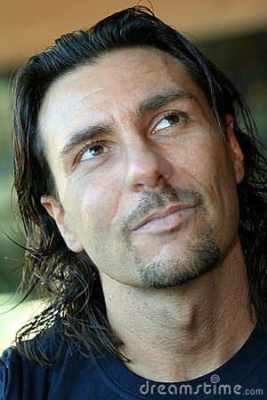 Free Happy Serenely Pensive Man / Italian Men Stock Image - 4325731