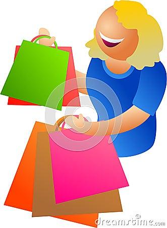 Free Happy Shopping Stock Photo - 339010