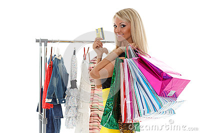 happy shopping royalty free stock images image