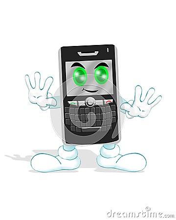 Happy Smart phone
